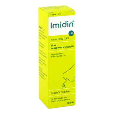 Imidin oK Nasenspray 0,1% ohne Konservierungsstoff  zamów na apo-discounter.pl