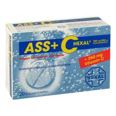 Ass + C Hexal g.Schmerz.+Fieb. Brausetabl.