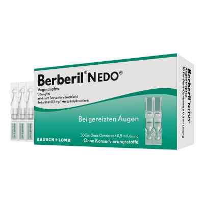 Berberil N Edo Einzeldosispip.