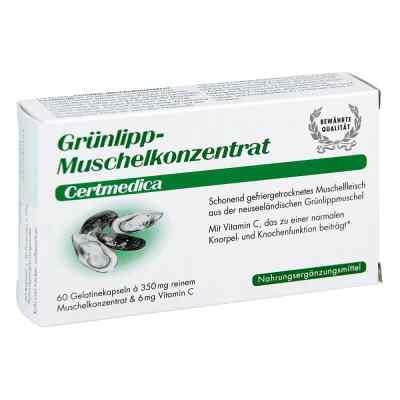 Gruenlipp ekstrakt z nowozelandzkiej małży zielonej kaspułki  zamów na apo-discounter.pl
