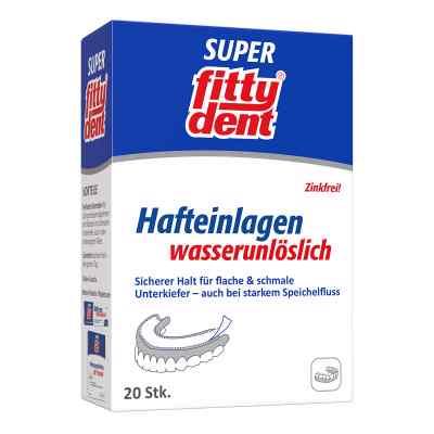 Fittydent super samoprzylepne paski mocujące do protez zębowych  zamów na apo-discounter.pl