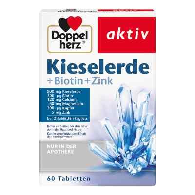 Doppelherz krzemionka + biotyna tabletki  zamów na apo-discounter.pl