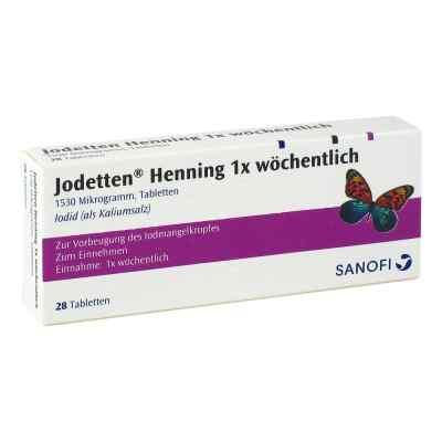 Jodetten Henning 1x woechentlich Tabl.  zamów na apo-discounter.pl