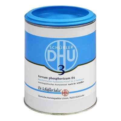 Biochemie Dhu 3 Ferrum phosphor.D 3 Tabl.  zamów na apo-discounter.pl