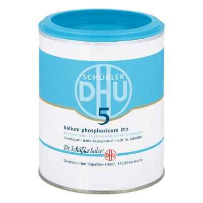 Biochemie Dhu 5 Kalium phosphor.D 12 Tabl.  zamów na apo-discounter.pl