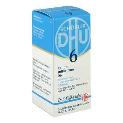Biochemie DHU sól Nr 6 Siarczan potasu D6, tabletki  zamów na apo-discounter.pl