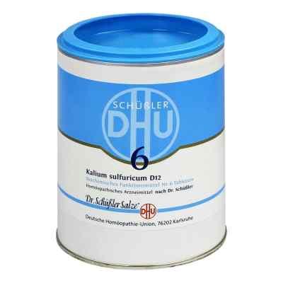Biochemie Dhu 6 Kalium sulfur.D 12 Tabl.  zamów na apo-discounter.pl
