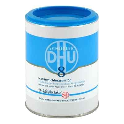 Biochemie Dhu 8 Natrium chlor. D 6 tabletki  zamów na apo-discounter.pl