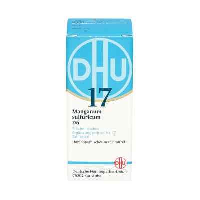 Biochemie Dhu 17 Manganum sulfuricum D 6 Tabl.  zamów na apo-discounter.pl