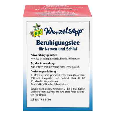 Wurzelsepp Beruhigungstee Bio Btl.