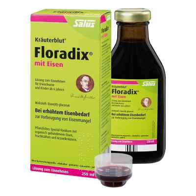 Floradix z żelazem tonik  zamów na apo-discounter.pl