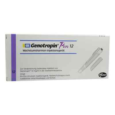 Genotropin Pen 12 mg wstrzykiwacz  zamów na apo-discounter.pl