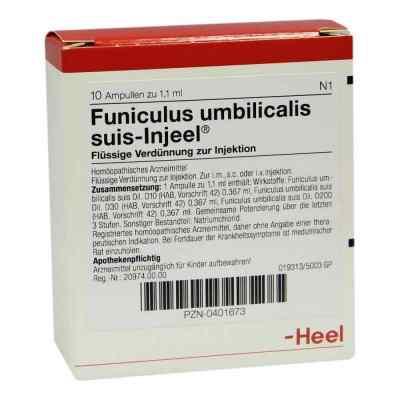 Funiculus Umbilical. Suis Injeele 1,1 ml ampułki  zamów na apo-discounter.pl