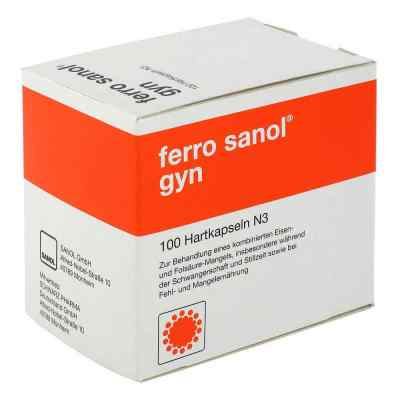 Ferro Sanol gyn Kapseln  zamów na apo-discounter.pl