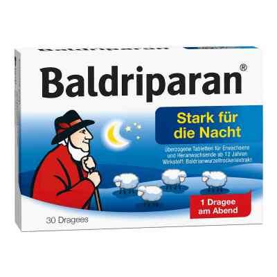 Baldriparan stark tabletki powlekane na noc  zamów na apo-discounter.pl