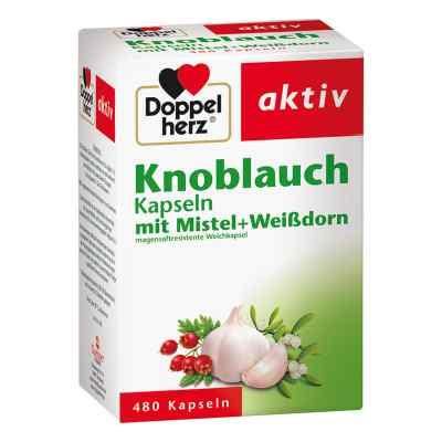 Doppelherz kapsułki czosnek-jemioła-głóg  zamów na apo-discounter.pl