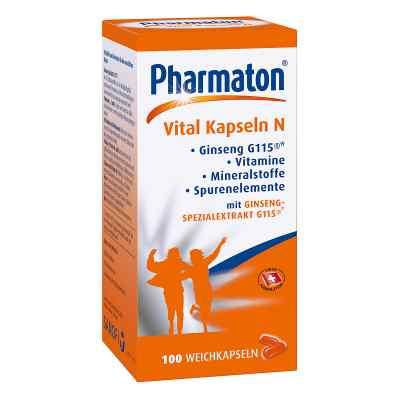 Pharmaton Vital N kapsułki  zamów na apo-discounter.pl