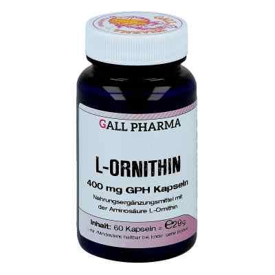 L-ornithin 400 mg kapsułki  zamów na apo-discounter.pl