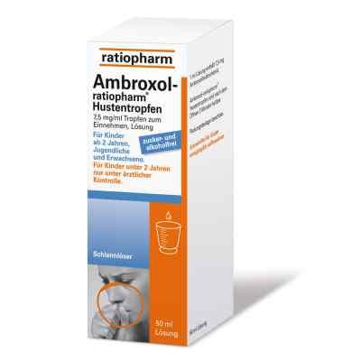 Ambroxol ratiopharm Hustentropfen  zamów na apo-discounter.pl