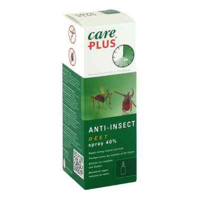 Care Plus Deet Anti Insect Spray 40% odstarszający owady