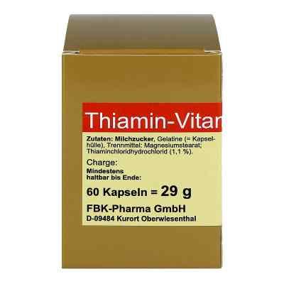 Thiamin Kapseln Vitamin B1  zamów na apo-discounter.pl
