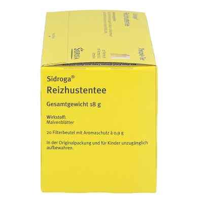 Sidroga Reizhustentee herbata na kaszel w saszetkach  zamów na apo-discounter.pl