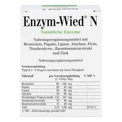 Enzym Wied N drażetki  zamów na apo-discounter.pl
