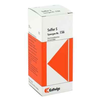 Synergon 156 Sulfur S Tropfen  zamów na apo-discounter.pl
