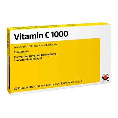 Vitamin C 1000 Filmtabletten  zamów na apo-discounter.pl