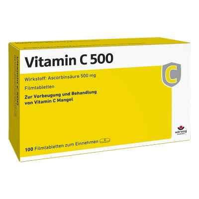 Witamina C 500 tabletki powlekane  zamów na apo-discounter.pl