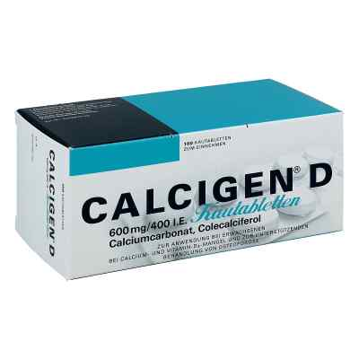 Calcigen D Kautabl.  zamów na apo-discounter.pl