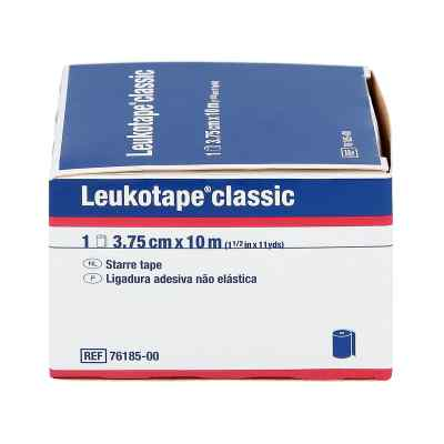 Leukotape Classic 10 m x 3,75 cm blau 76185