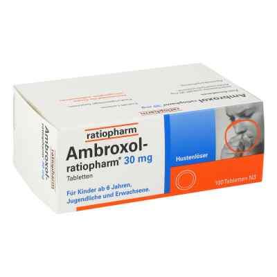 Ambroxol ratiopharm 30 mg Hustenloeser Tabl.