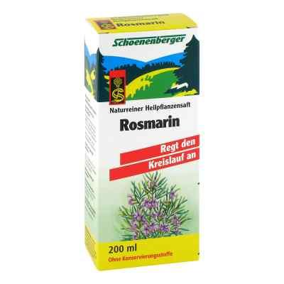 Rosmarin Saft Schoenenberger Heilpflanzensaefte  zamów na apo-discounter.pl