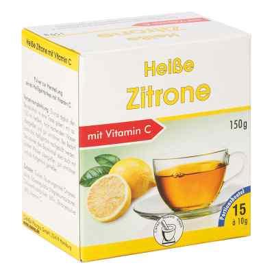 Rozgrzewająca cytryna + Vitamin C w proszku saszetki  zamów na apo-discounter.pl