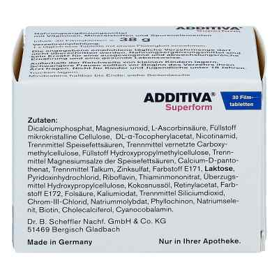 Additiva Superform Tabletki powlekane  zamów na apo-discounter.pl