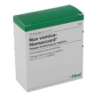 Heel Nux Vomica Homaccord ampułki 1,1 ml  zamów na apo-discounter.pl