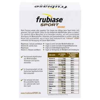 Frubiase Sport tabletki musujące  zamów na apo-discounter.pl