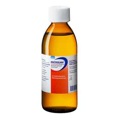 Mucosolvan Saft 30 mg/5 ml  zamów na apo-discounter.pl
