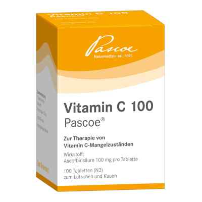 Vitamin C 100 Pascoe Tabl.