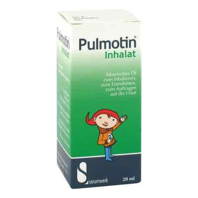 Pulmotin środek do inhalacji