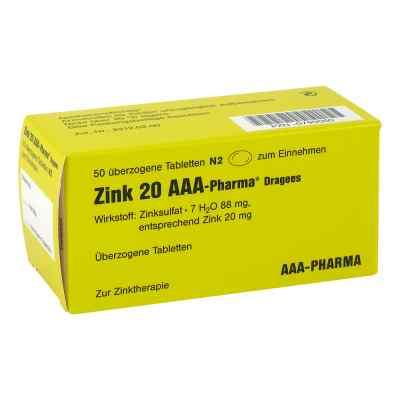 Zink 20 Aaa Pharma Dragees  zamów na apo-discounter.pl