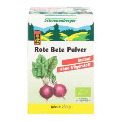 Rote Bete Pulver instant Schoenenberger
