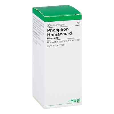 Phosphor Homaccord roztwór 30 ml od Biologische Heilmittel Heel GmbH PZN 00807501
