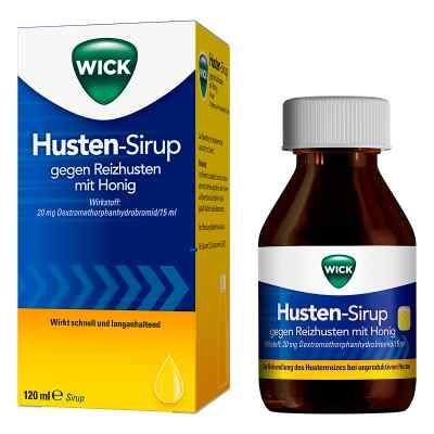 Wick Husten Sirup gg.Reizhusten m.Honig  zamów na apo-discounter.pl
