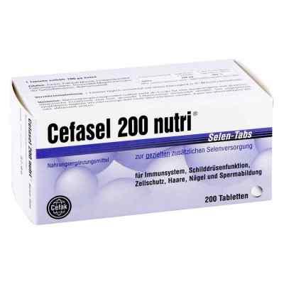 Cefasel 200 nutri Selen tabletki  zamów na apo-discounter.pl