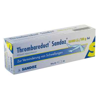 Thrombareduct Sandoz 30 000 I.e. Gel  zamów na apo-discounter.pl