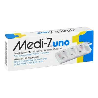 Medi 7 Uno dozownik lekarstw - na 7 dni  zamów na apo-discounter.pl