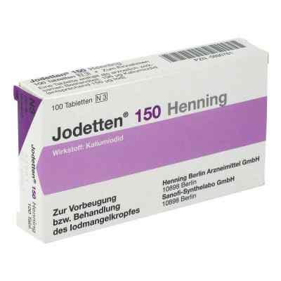Jodetten 150 Henning Tabl.  zamów na apo-discounter.pl