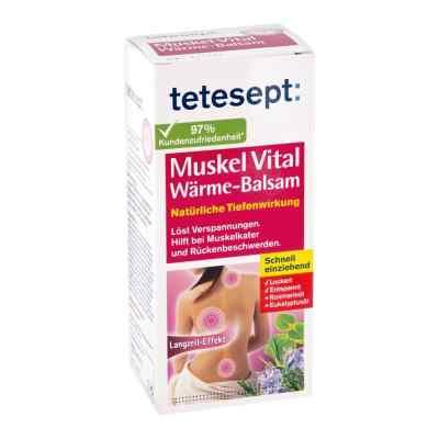 Tetesept Muskel Vital balsam rozgrzewający  zamów na apo-discounter.pl